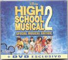 HIGH SCHOOL MUSICAL 2 Disney Soundtrack OST CD + DVD