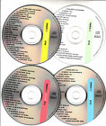 4 VCD's PLAIN WHITE T'S RIHANNA LINKIN PARK PARAMORE FOO FIGHTERS BRITNEY SPEARS