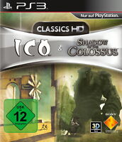 ICO / Shadow of The Colossus -- Classics HD (Sony PlayStation 3, 2011)