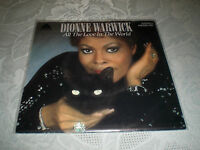 """DIONNE WARWICK (7"""") ALL THE LOVE IN THE WORLD [1982 ARISTA VINYL SINGLE 45 PS]"""