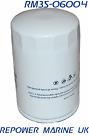 Marine Oil Filter, Mercruiser, Volvo Penta, OMC 4.3L V6 35-883702Q / 35-802884