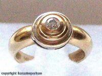 ~Diamantring Brillantring Ring mit Diamant Diamanten Solitär in 585 Gold Gr.48