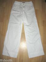 COMPTOIR DES COTONNIERS - Pantalon blanc coton et lin - T. 36 - TBE !!!!!!!!!