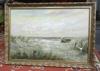 Caroline McMillan Davey Original Oil Painting - Seascape - Signed
