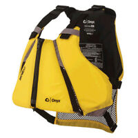 Onyx Outdoors 122000-300-040-14 MoveVent Curve Life Vest, Yelow, Med/Lg