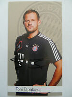 Handsignierte AK Autogrammkarte *TONI TAPALOVIC* Bayern München 12/13 2012/2013
