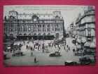 CPA 75 PARIS gare St Lazare cour du havre rue d'amsterdam voyagé animée voitures