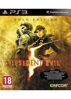 Resident Evil -- Gold Edition (Sony PlayStation 3, 2009) FAST FREE POSTAGE