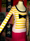 SONIA RYKIEL POUR H&M PULL BAYADERE NOEUD TS OU 38/40