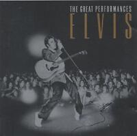 ELVIS PRESLEY THE GREAT PERFORMANCES CD