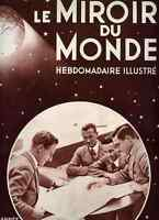Le Miroir du Monde N°18 1930 Smith/pompier/Corpus chris