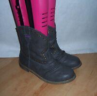 NEW Blowfish womens TULSA grey man made boots size 3 EU 36