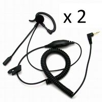 HEADPHONES FOR MOTOROLA AND COBRA WITH MICRO EXTENDER IN PALO COMPATIBLE VOX