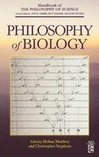 Philosophy of Biology by Dov M Gabbay: New