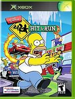 The Simpsons: Hit & Run (Microsoft Xbox, 2003). Game, case and manual included.
