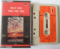 SPLIT ENZ TIME AND TIDE PAPER LABELS CASSETTE TAPE