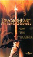 Dragonheart. Una nuova avventura (2000) VHS (Nuovo - Sigillato) no dvd