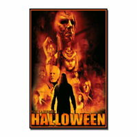 136949 Halloween Michael Myers Horror Movie Vintage Wall Print Poster Affiche
