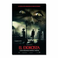 137566 THE EXORCIST Classic Horror Movie Wall Print Poster Affiche