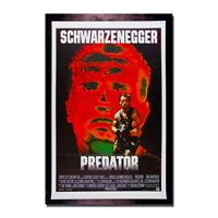 137858 Predator Arnold Schwarzenegger Movie Wall Print Poster Affiche