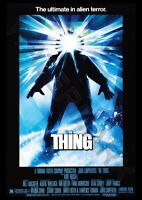 139318 THE THING MOVIE HORROR JOHN CARPENTER ALIEN Wall Print Poster Affiche