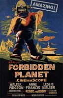 140886 FORBIDDEN PLANET 's Horror Wall Print Poster Affiche