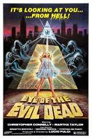 141658 MANHATTAN BABY Lucio Fulci Horror Sci-Fi Wall Print Poster Affiche