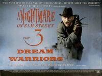 142143 A NIGHTMAR ON ELM STREET DREAM WARRIORS Horror Wall Print Poster Affiche