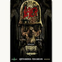 143946 Slayer Anthrax Death Angel Tour Music Wall Print Poster Affiche