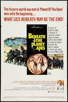 147866 Beneath The Planet Of The Apes Movie Wall Print Poster Affiche