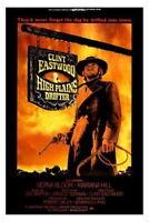148536 High Plains Drifter Movie Wall Print Poster Affiche