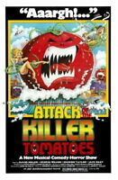 148298 Attack Of The Killer Tomatoes Movie Wall Print Poster Affiche
