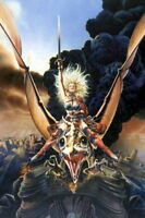 151150 Heavy Metal Taarna No Text Movie Wall Print Poster Affiche