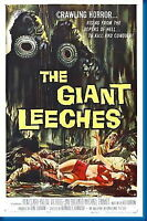 150532 Attack Of The Giant Leeches Movie Wall Print Poster Affiche