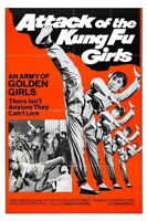 152554 Attack Of The Kung Fu Girls Movie Wall Print Poster Affiche