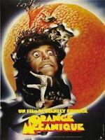 152719 A Clockwork Orange Movie French Wall Print Poster Affiche