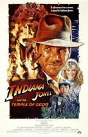 140804 INDIANA JONES AND TH TEMPL OF DOOM Raiders Wall Print Poster AU