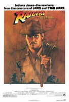 151750 Raiders Of The Lost Ark Movie Wall Print Poster AU
