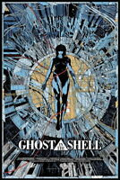 157648 Ghost In The Shell Fight Riot Police Anime Hot Wall Print Poster Affiche