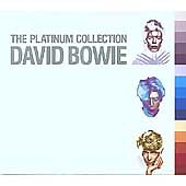 David Bowie Platinum Collection The (2005) SEALED 3 X CD 57 TRACK SET