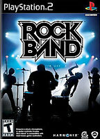 Rockband PS2 Refurbished Black Label Disc In Sleeve Only Fast Free Shipping