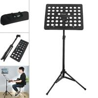 Lightweight Folding Music Stand Sheet Alloy Tripod Stand Holder w/ Soft Bag