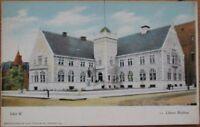 1910 Postcard-Library Building, Joliet, Illinois Il Ill