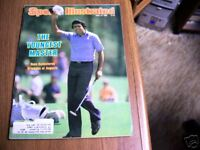 Sports Illustrated 1980 Steve Ballesteros Masters Cover