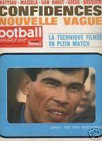 FOOTBALL MAGAZINE 1964 n 61 FRANCE - HONGRIE