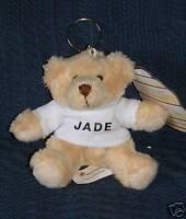 Personalised Teddy Bear Keyring  -  Ideal Gift