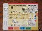 LAZIO - CHIEVO VERONA BIGLIETTO TICKET 2001/02