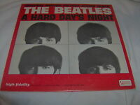 BEATLES-HARD DAY'S NIGHT-UA UAL 3366 MONO 1964-VG+/VG+ VINYL RECORD ALBUM LP