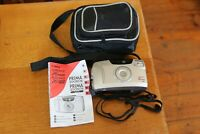 CANON Sureshot 76 Zoom 35mm Film Camera Sure Shot with Instruction Manual & Case