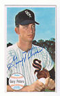 1964 Topps Giant # 1 GARY PETERS signed card WHITE SOX